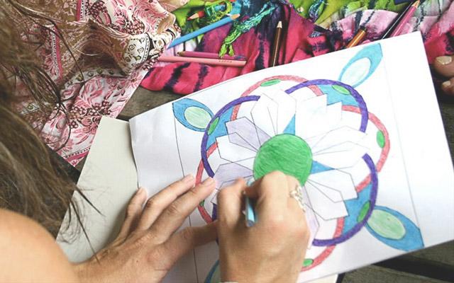 Мастер-класс по рисованию мандалы